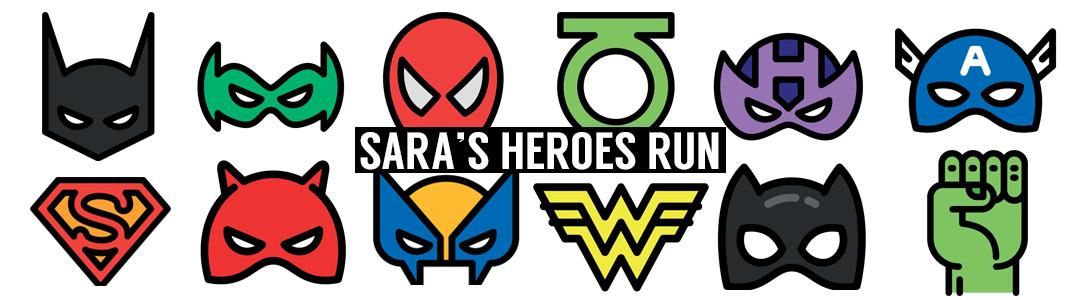 Saras heroes run
